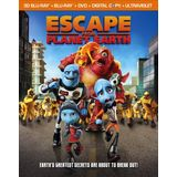 Escape From Planet Earth [3D Blu-ray]