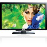 Philips 22PFL4507 22-Inch LED TV with Digital Crystal Clear, 3 HDMI, USB/VGA Input, DLNA/SRS TruSurround, Black