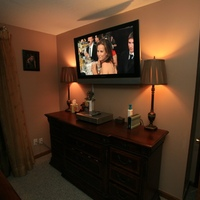 "Panasonic 42"" 720p Bedroom TV"