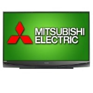 "Mitsubish WD73C10 73"" 1080p 3D upgradeable DLP TV"