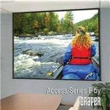 Draper 104015Q Matte White: Access/Series E Electric Screen With Quiet Motor - NTSC 100 inch diagonal