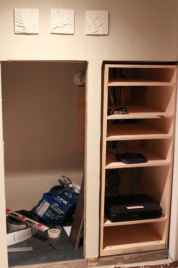 Diy Project Humble Media Closet Avs Forum Home