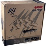 Ma Audio HK102SX 2 Channel High Current Amplifier (400W RMS Power)