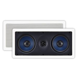 OSD Audio IW525 Custom Series In-Wall Center Channel LCR Speaker (Off-White, 1)