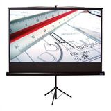 "Matte White Tripod S Portable Screen - 110"" diagonal HDTV Format"