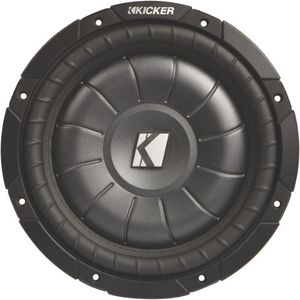 Kicker 6.5Inch Shallow Mount Subwoofer 4 Ohm