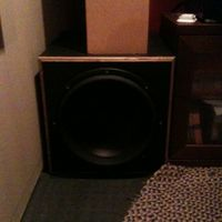 Finished Sub woofer Enclosure