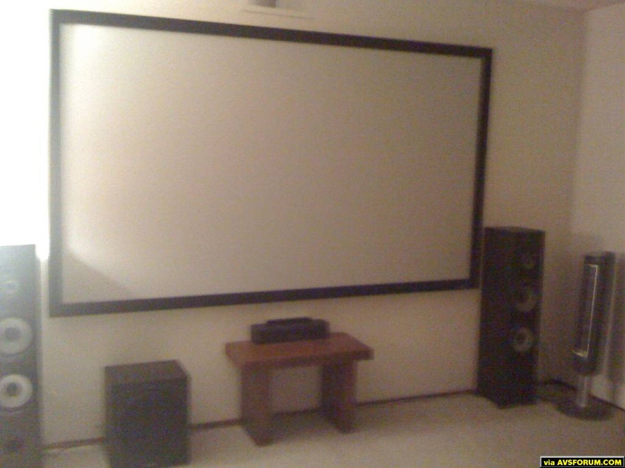 "106"" Fixed Frame Elite Screen"
