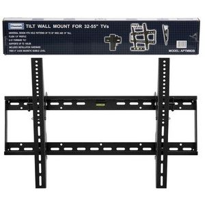 Cheetah Mounts APTMM2B Flat Screen TV Wall Mount Bracket for 32-65-Inch Plasma LED LCD TV