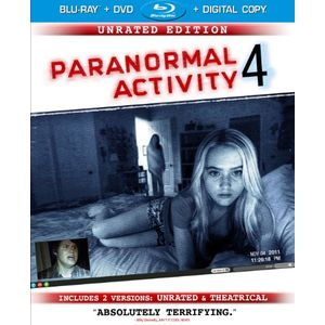 Paranormal Activity 4: Unrated Edition/Rated Version (Blu-ray/DVD Combo + Digital Copy + UltraViolet)