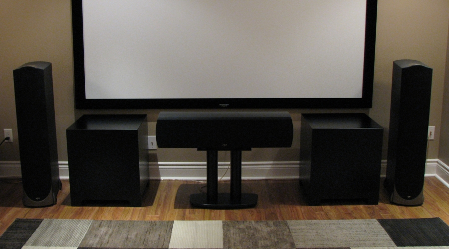 Center Channel Speaker TV Stand