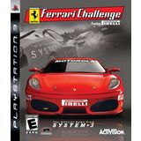 Ferrari Challenge Playstation3 Game Activision