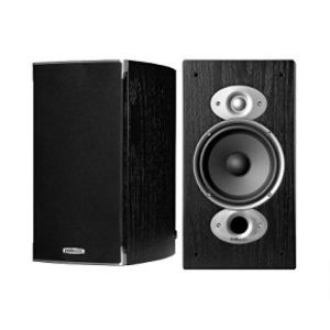 Polk Audio RTI A3 Bookshelf Speakers (Pair, Black)