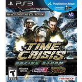 Time Crisis Razing Storm Playstation3 Game NAMCO BANDAI Games