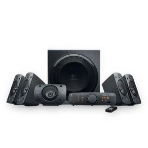Selected Z906 5.1 Surround Sound Spkrs By Logitech Inc