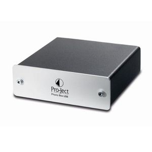 Pro-Ject: Phono Box II USB Phono Preamp - Silver
