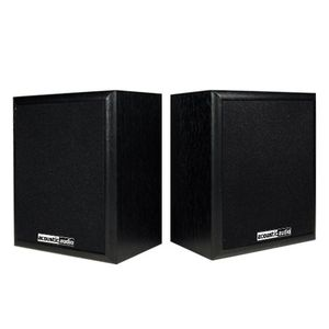 Acoustic Audio RW-SP3 100 Watt Home Theater Audio Bookshelf Speakers