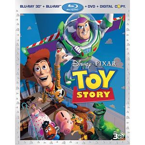 Toy Story (Four-Disc Combo: Blu-ray 3D/Blu-ray/DVD + Digital Copy)