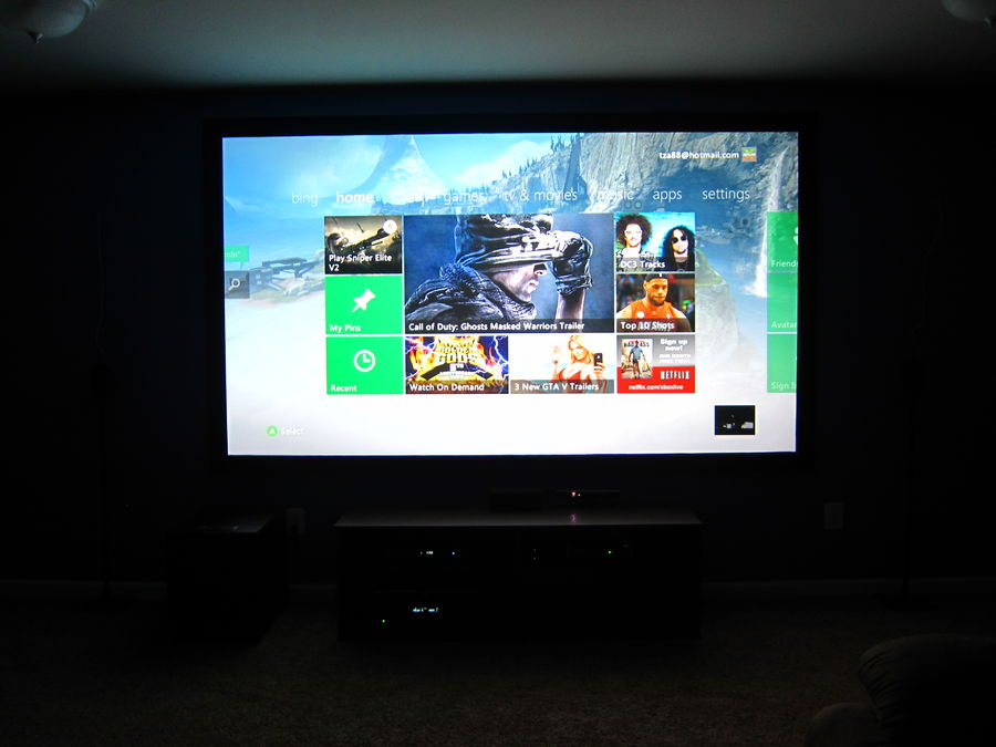 New Screen with Xbox