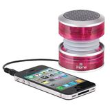 iHome iHM60PT Rechargeable Mini Speaker (Pink Translucent)