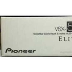 Pioneer Elite VSX-50 7.1-Channel 3-D Ready A/V Receiver