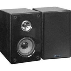 "Technical Pro SPH6 140 Watt Book Shelf Speakers, Pair, 3"" Tweeter / 6"" Woofer"