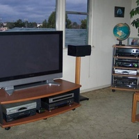 Panasonic TH-42PX50U with Tivo Series 3 and SA8300HD