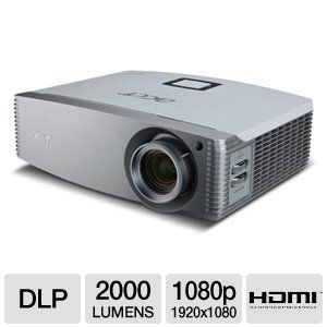 Acer H9500BD 3D 1080P Home Theater Projector