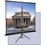 Certifed Tripod Portable Projection Screen, 4:3 Aspect Ratio-100 inch Front Certified PS100