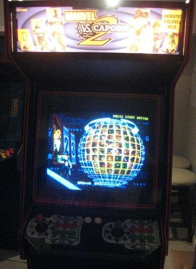 marvel vs capcom 3 arcade machine for sale
