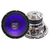 "Blue Wave High-Powered Subwoofer - 12"", 1200W Max (PL-1290BL) -"