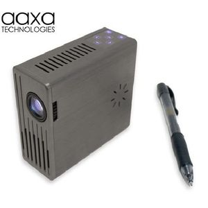 AAXA Limited Micro Projector for iPod, iPhone, Zune, PSP and Laptop (Black)