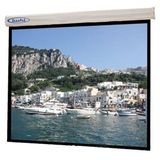 Buhl Square Format Electric Projector Screen - 96 inch x 96 inch Sorrento, Matte White Fabric (Buhl BHL-EC9696)
