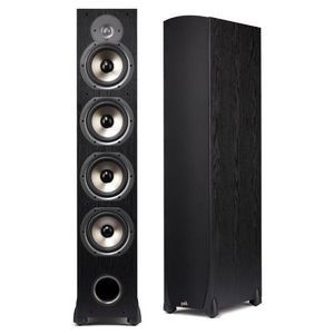 Polk Audio Monitor 75T Four-Way Ported Floorstanding Speaker (Single, Black)