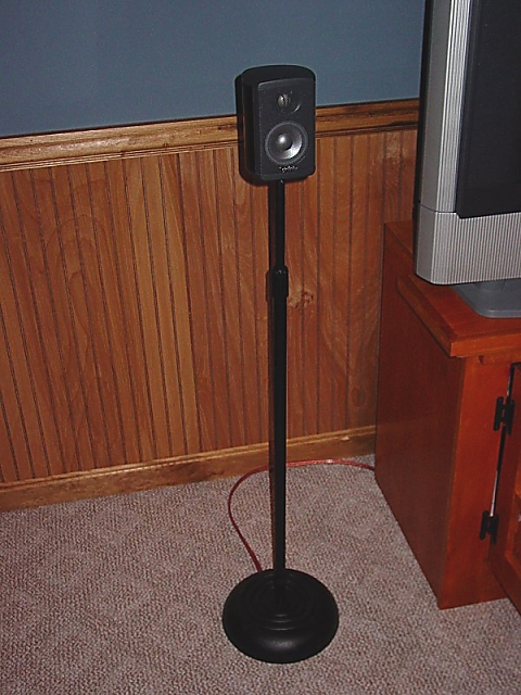 Inexpensive DIY Satellite Speaker Stands AVS Forum Home