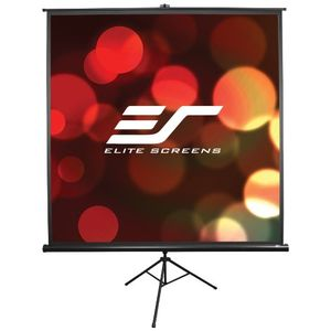 Elite Screens Tripod Portable Projection Screen, 16:9 Aspect Ratio-100in (Max White)