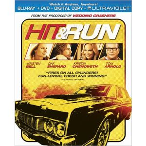 Hit &amp; Run  (Two-Disc Combo Pack: Blu-ray + DVD + Digital Copy + UltraViolet)