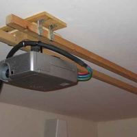 This is the moveable ceiling mount I came up with.