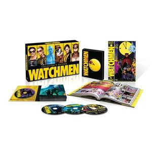 Watchmen: Ultimate Cut + Graphic Novel (BD) [Blu-ray]