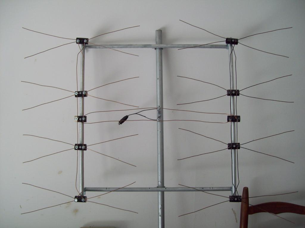how to build a tv antenna at home