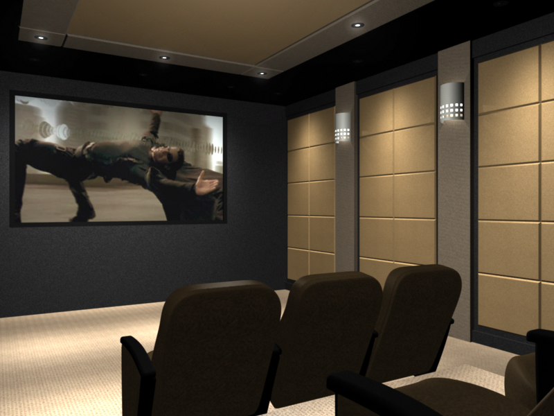 Home Theater Color Scheme