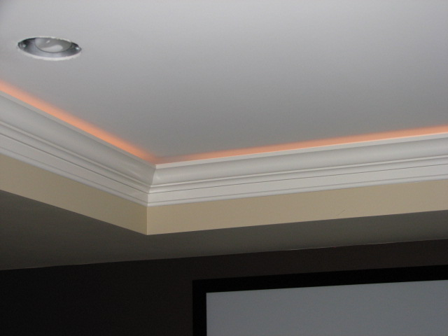 Tray Ceiling With Rope Lighting Designs & Crown Molding Tray Ceiling Rope Lighting | Integralbook.com azcodes.com