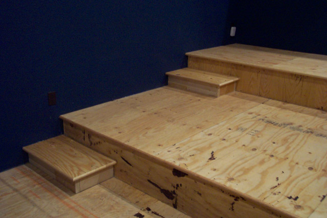 home theater riser. Joist Ing For Riser Avs Forum Home Theater Discussions And